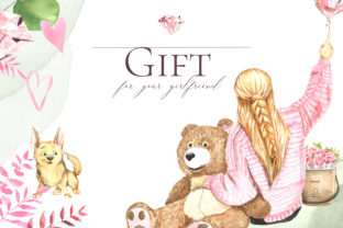 Print on Demand: Gift for Your Girlfriend Graphic Illustrations By laffresco04