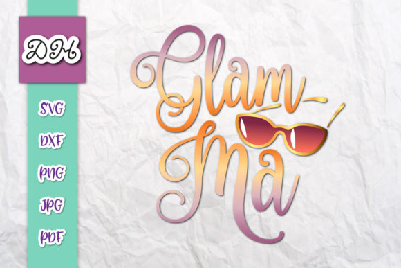 Download Glamma Young Grandma to Be Sublimation