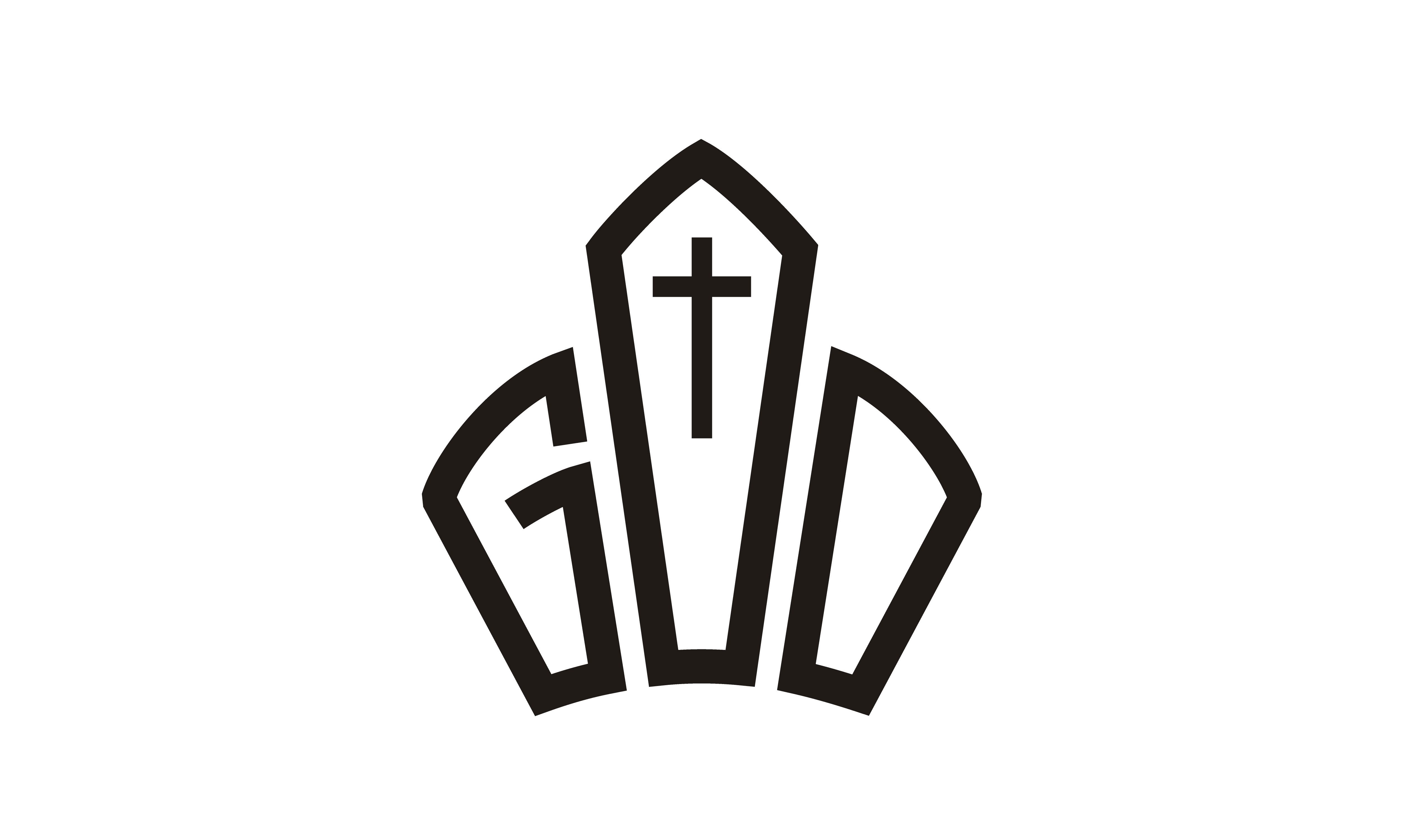 Download Free God Jesus Crown King Lord Church Logo Graphic By Enola99d for Cricut Explore, Silhouette and other cutting machines.