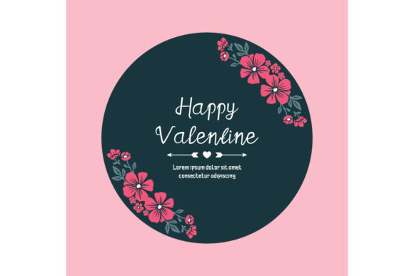 Happy Valentine Day Graphic Illustrations By stockfloral