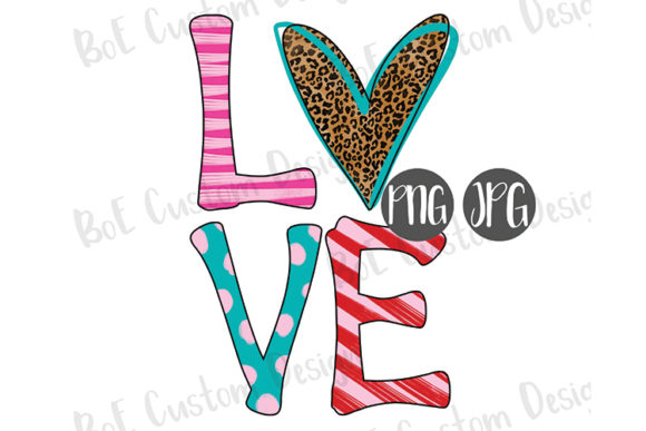 Print on Demand: Heart Love Valentine Clipart Graphic Illustrations By boecustomdesign