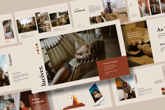 LUCIVER - Keynote Template Graphic Presentation Templates By balyastd