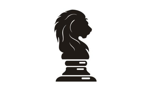 Download Free Lion King Knight Chess Silhouette Logo Graphic By Enola99d for Cricut Explore, Silhouette and other cutting machines.