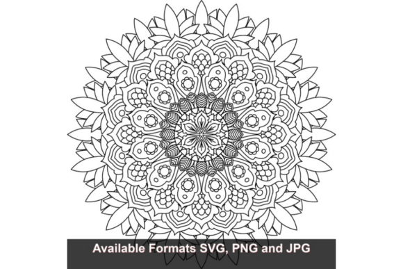 Print on Demand: Mandala Art #757 Graphic Graphic Crafts By iwantto.us