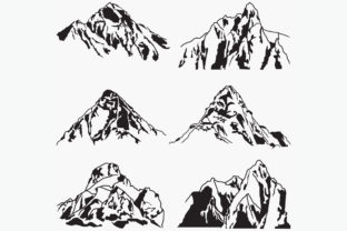 Mountains Logo Graphic Logos By octopusgraphic