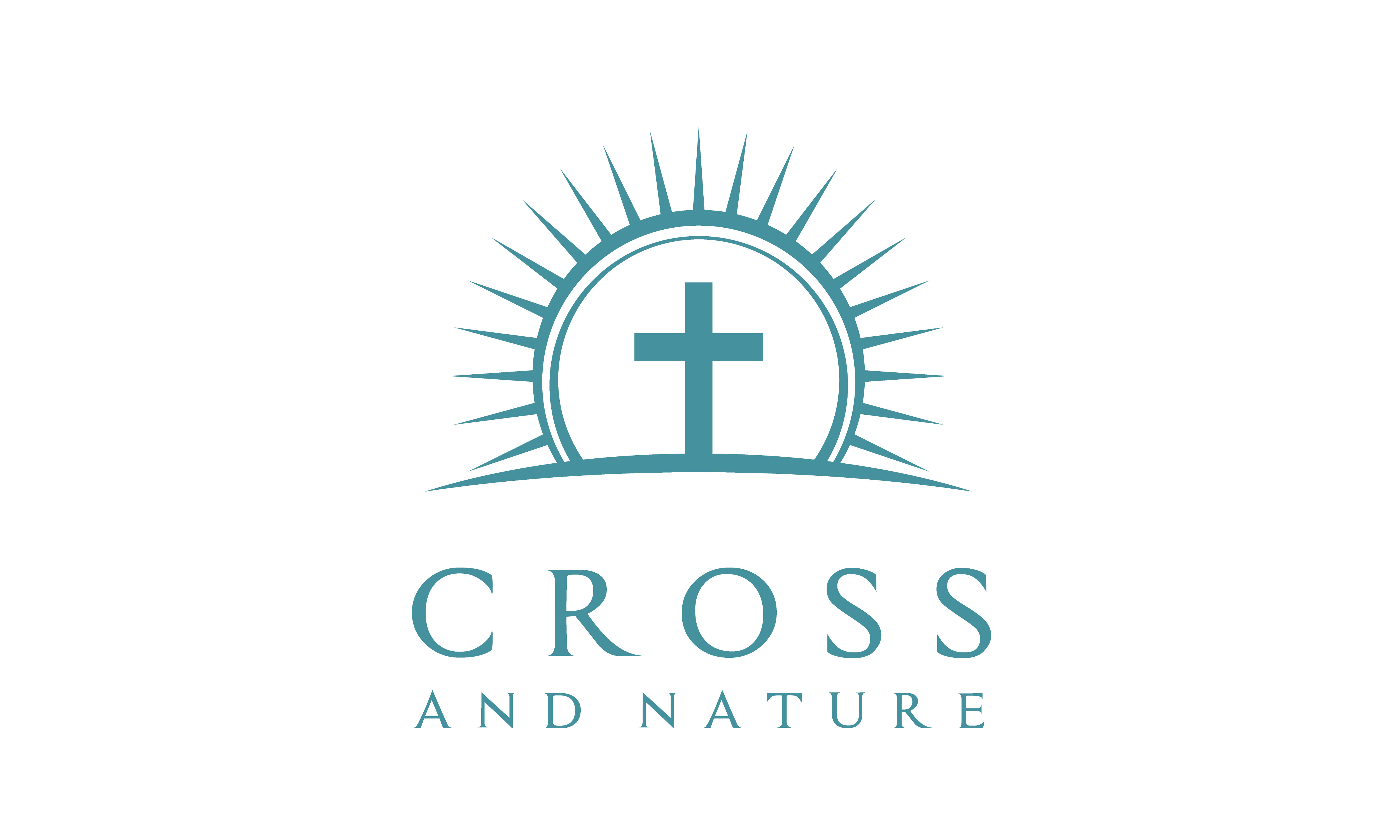 Download Free Nature Christian Jesus Cross Church Logo Graphic By Enola99d for Cricut Explore, Silhouette and other cutting machines.
