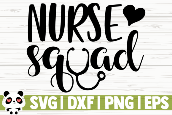 Print on Demand: Nurse Squad Graphic Illustrations By CreativeDesignsLLC