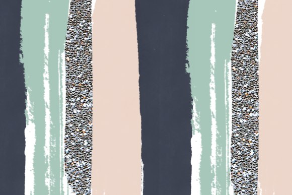 Poolside Brushstrokes Graphic Illustrations By KA Designs - Image 6