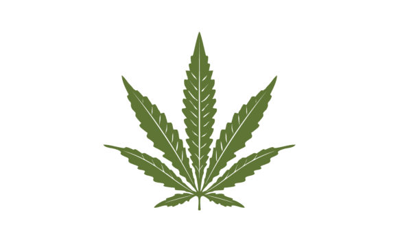 Download Free Single Pot Hemp Cannabis Marijuana Leaf Graphic By Enola99d for Cricut Explore, Silhouette and other cutting machines.