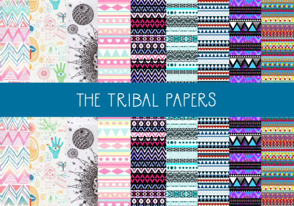 Print on Demand: Tribal Designs Graphic Illustrations By capeairforce - Image 1