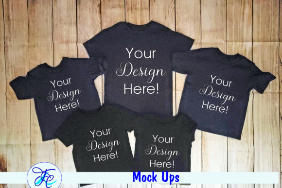 Youth Mock Up Shirts Graphic Product Mockups By Family Creations