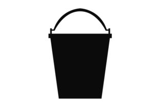 Print on Demand: Bucket Icon Graphic Icons By marco.livolsi2014