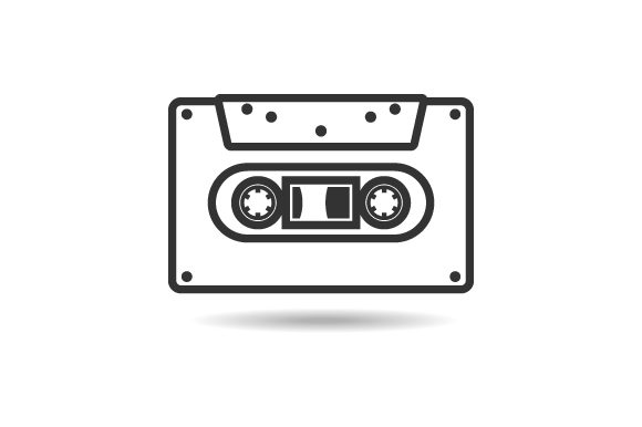 Cassette Vector Graphic Logos By hartgraphic