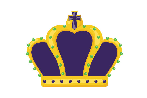 King Crown Mardi Gras Craft Cut File By Creative Fabrica Crafts