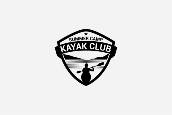 Download Free 16 Kayak Canoe Badges Logos Graphic By Octopusgraphic for Cricut Explore, Silhouette and other cutting machines.