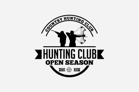 17 Hunting Badges & Logos Graphic Logos By octopusgraphic - Image 10