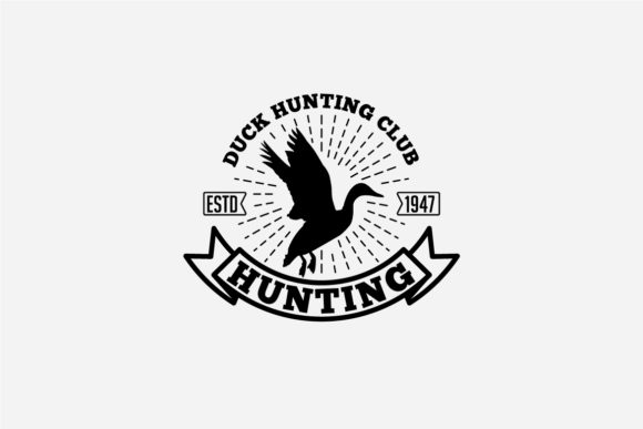 17 Hunting Badges & Logos Graphic Logos By octopusgraphic - Image 12