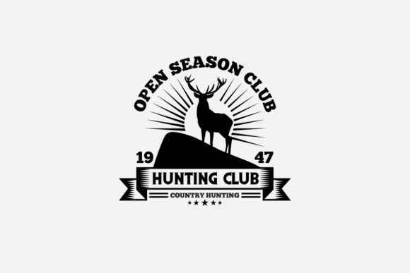 17 Hunting Badges & Logos Graphic Logos By octopusgraphic - Image 14