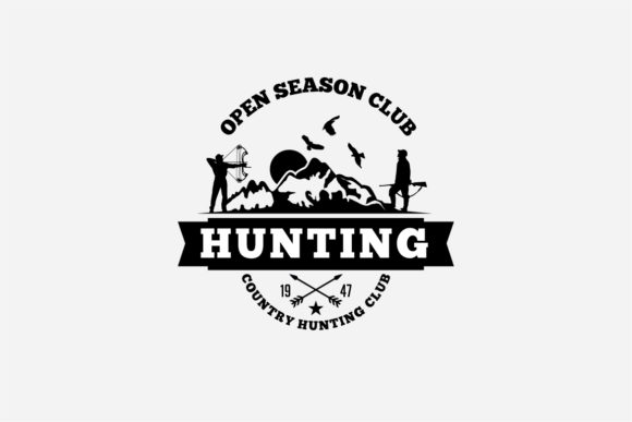 17 Hunting Badges & Logos Graphic Logos By octopusgraphic - Image 16