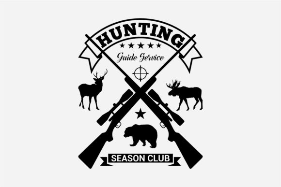 17 Hunting Badges & Logos Graphic Logos By octopusgraphic - Image 2
