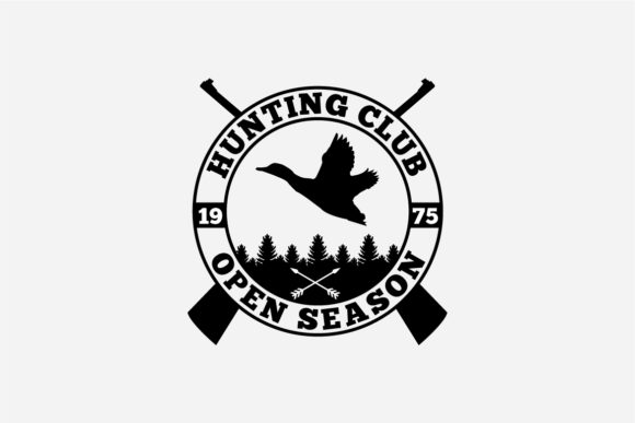 17 Hunting Badges & Logos Graphic Logos By octopusgraphic - Image 6