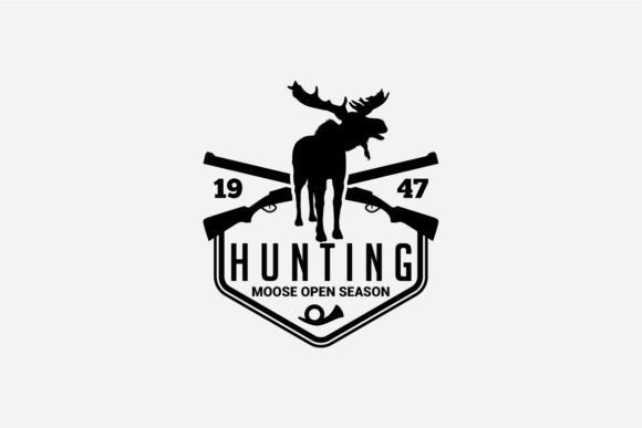 17 Hunting Badges & Logos Graphic Logos By octopusgraphic - Image 7