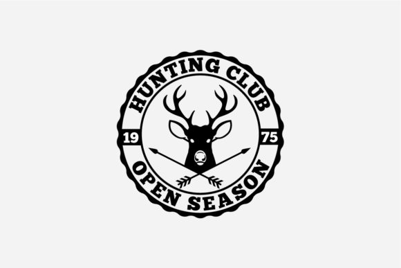 17 Hunting Badges & Logos Graphic Logos By octopusgraphic - Image 9