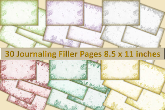 Print on Demand: 30 Grunge Backgrounds Use Graphic Backgrounds By The Paper Princess