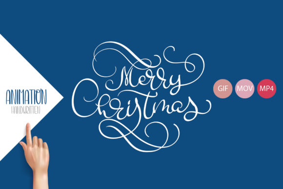 Animation Hand Drawn Merry Christmas Graphic Illustrations By Happy Letters - Image 3