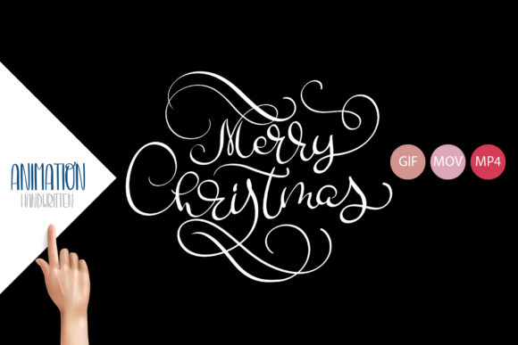 Animation Hand Drawn Merry Christmas Graphic Illustrations By Happy Letters - Image 4