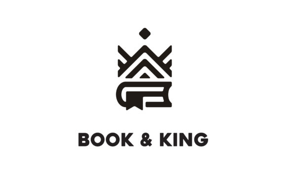 Download Free Book King Queen Crown Royal Logo Design Graphic By Enola99d for Cricut Explore, Silhouette and other cutting machines.