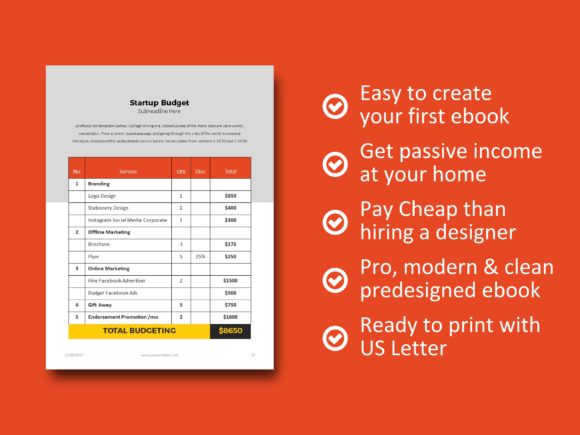 Print on Demand: Business Plan 2020 Template PowerPoint Graphic Print Templates By rivatxfz - Image 8