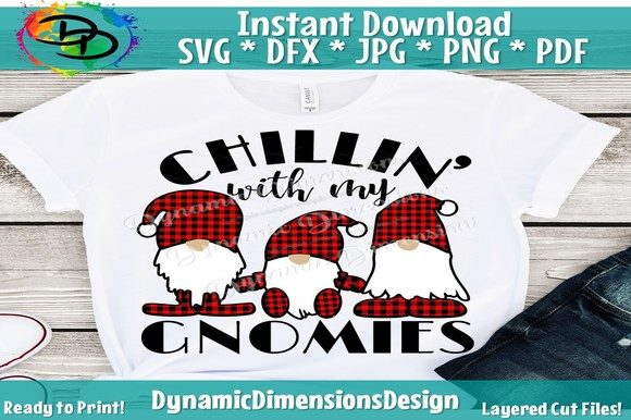 Print on Demand: Chillin with My Gnomies Graphic Crafts By dynamicdimensions