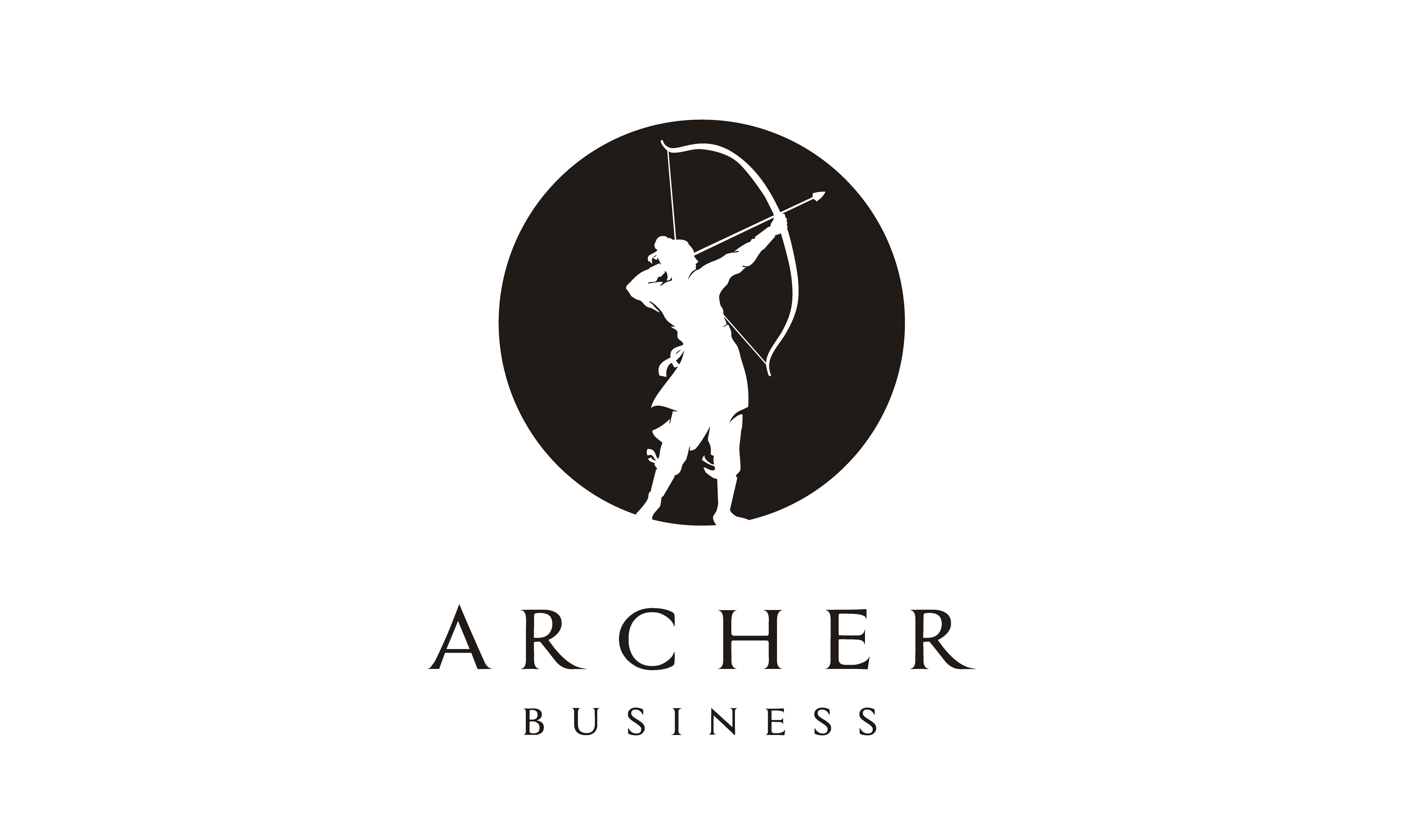 Download Free Chinese Archer Warrior Bow Arrow Logo Graphic By Enola99d for Cricut Explore, Silhouette and other cutting machines.
