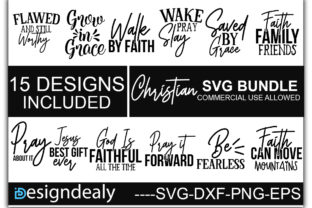 Print on Demand: Christian Bundle Graphic Print Templates By Designdealy.com