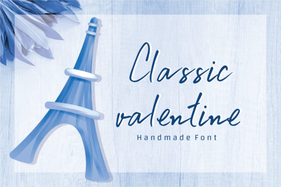 Print on Demand: Classic Valentine Script & Handwritten Font By BitongType