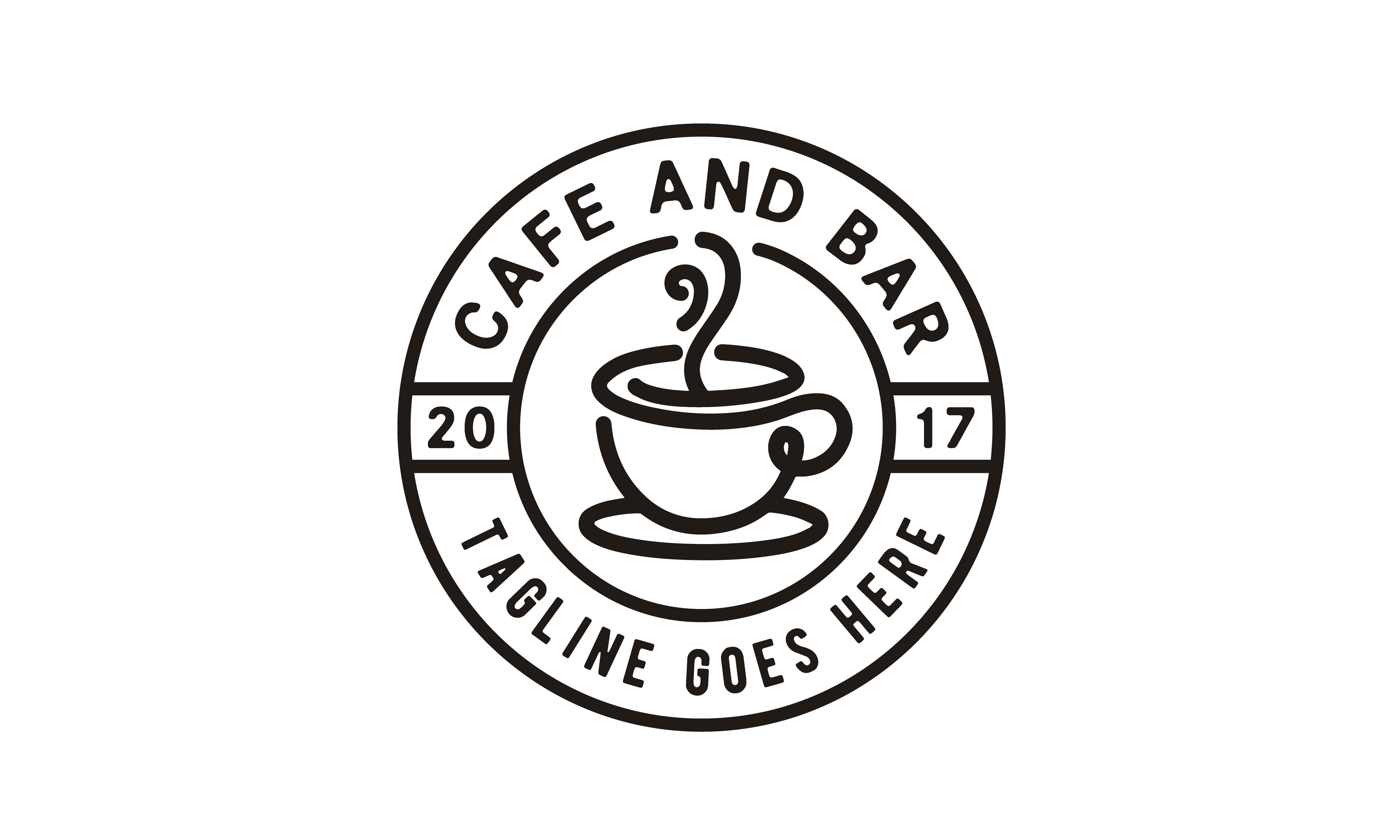 Download Free Coffee Stamp Cafe Label Emblem Sticker Graphic By Enola99d for Cricut Explore, Silhouette and other cutting machines.