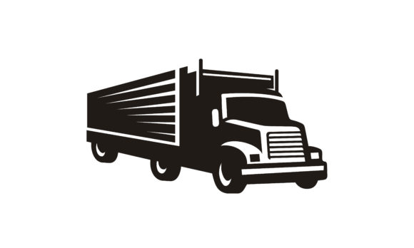 Download Free Container Truck Transport Moving Logo Graphic By Enola99d for Cricut Explore, Silhouette and other cutting machines.