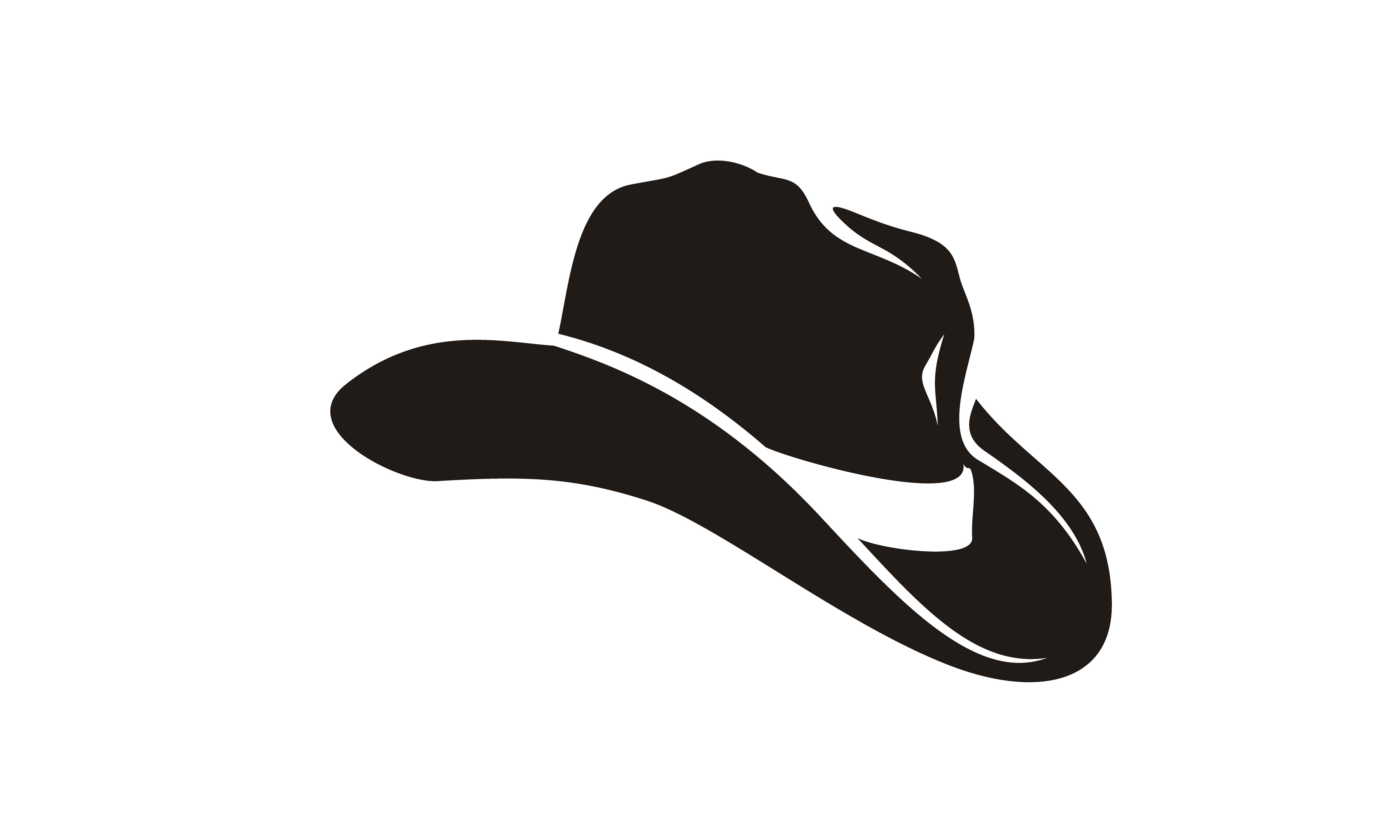Country Western Cowboy Sheriff Hat Logo Graphic By Enola99d