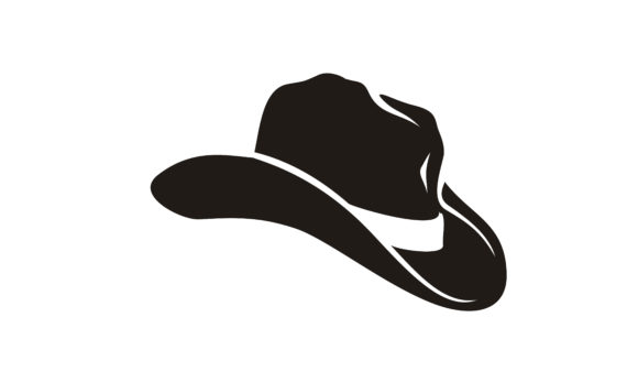 Download Free Country Western Cowboy Sheriff Hat Logo Graphic By Enola99d for Cricut Explore, Silhouette and other cutting machines.