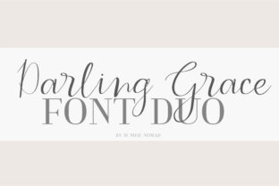 Print on Demand: Darling Grace Duo Serif Font By sunday nomad