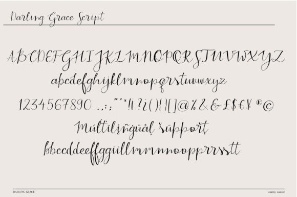 Print on Demand: Darling Grace Duo Serif Font By sunday nomad - Image 4
