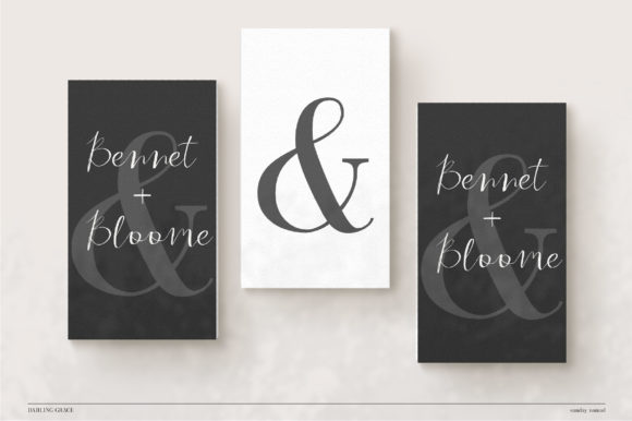 Print on Demand: Darling Grace Duo Serif Font By sunday nomad - Image 8