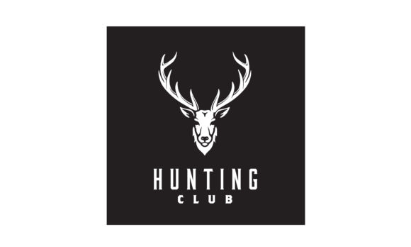 Download Free Deer Stag Buck Reindeer Antler Hunt Logo Graphic By Enola99d for Cricut Explore, Silhouette and other cutting machines.