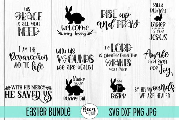 Download Free Easter Bundle Graphic By Jessica Maike Creative Fabrica SVG Cut Files