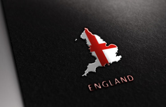 Download Free Flag England Map Logo Vector Design Graphic By Titiwancistudio for Cricut Explore, Silhouette and other cutting machines.