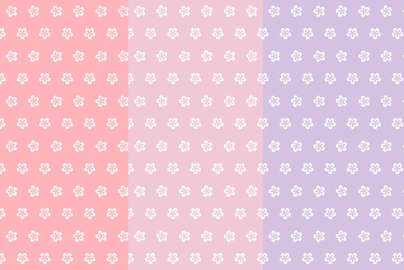 Floral Seamless Patterns Graphic Patterns By mertakdere19 - Image 2