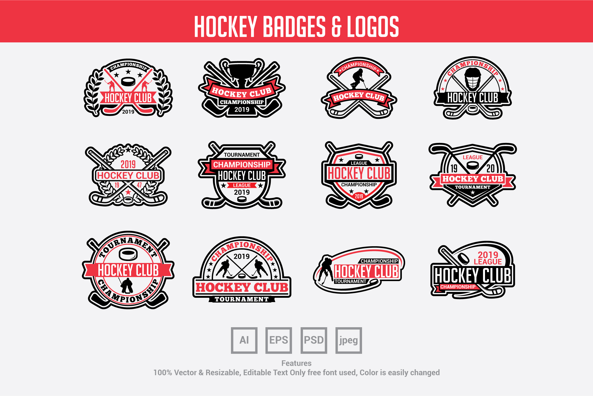Download Free Golf Club Badges Logos Grafik Von Octopusgraphic Creative for Cricut Explore, Silhouette and other cutting machines.