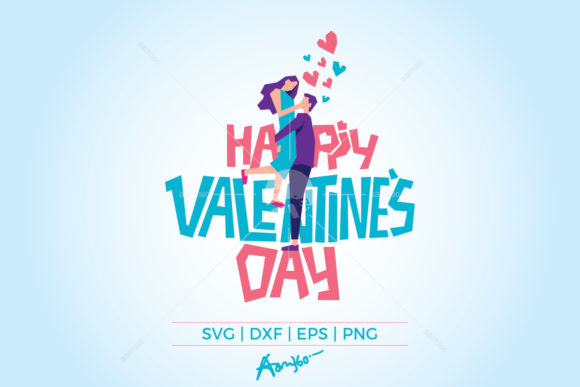 Download Free Happy Valentine S Day Graphic By Aam360 Creative Fabrica for Cricut Explore, Silhouette and other cutting machines.