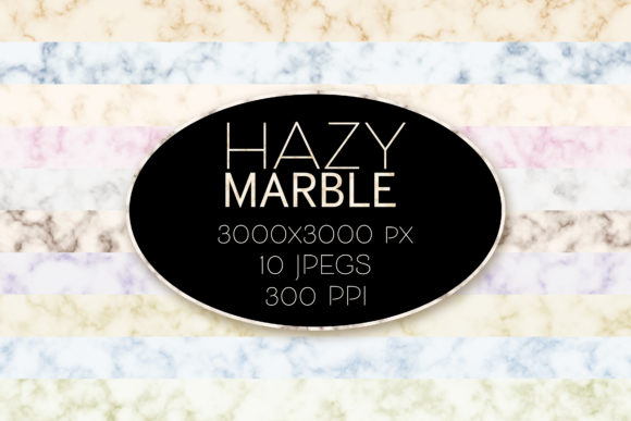 Print on Demand: Hazy Marble Textures Graphic Textures By OA Design